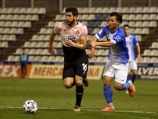 Javi López asume lo difícil del reto en el Espanyol. EFE
