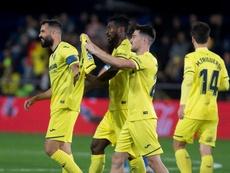 El Villarreal venció al Getafe en La Cerámica. EFE