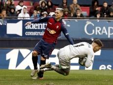 Remiro aseguró que tuvo un partido tranquilo contra el Athletic. EFE