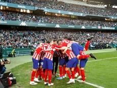 Assim irão jogar Atlético de Madrid e Levante pela 19ª rodada do espanhol, 04-01-20. EFE/Julio Muñoz