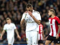 Al Madrid le falta acierto arriba. EFE