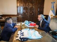 Argentina velará a Maradona en la Casa Rosada. EFE