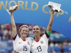 Estados Unidos se proclamó campeona del Mundial de Francia 2019. EFE/EPA
