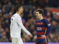 Messi lidera el ránking por delante de Cristiano Ronaldo. EFE/Alejandro García