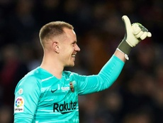 Ter Stegen wants to double his pay. EFE