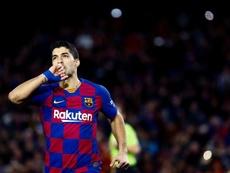Accord de principe entre le Barça et l'Atlético pour Luis Suárez. EFE