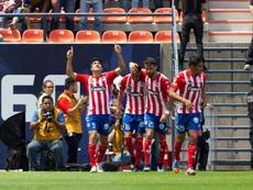 Atlético San Luis ganó a domicilio. EFE