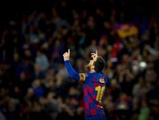 Chimy Ávila fala de Messi. EFE/Enric Fontcuberta