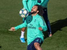 Marcelo chegou com 18 anos ao Real Madrid. EFE/Rodrigo Jiménez/Arquivo