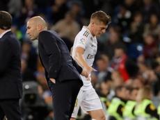 Toni Kroos répond aux éloges de Zidane. efe