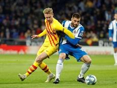 De Jong passe en revue l'actualité du Barça. EFE