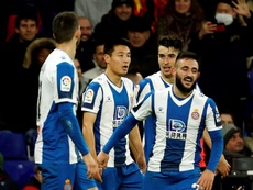 Wu Lei cree que el Espanyol saldrá de la zona roja. EFE