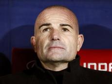 Vainqueur du Barça et du Real, Paco López écrit l'histoire de Levante. EFE