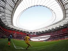 San Mamés volverá a abrir para la Copa de la Reina. EFE