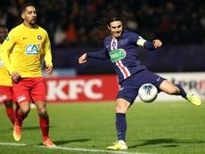 El PSG pasó por encima de modesto rival. EFE