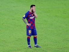Odegaard supera Messi como jogador mais ofensivo de LaLiga. EFE