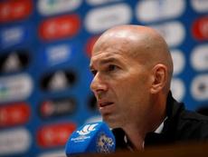 Le président de la FFF compte sur Zidane. EFE