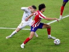 Competiçõ pune Valverde em um jogo após o vermelho contra o Atleti. EFE/Juanjo Martín