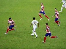 El Atlético depende de Barça y Madrid para ir a la Supercopa. EFE