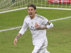 Ramos ratera sûrement le match contre Séville. EFE/Juanjo Martín