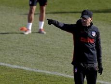 Simeone insiste : il veut un autre attaquant. EFE