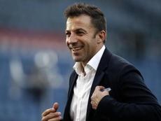 Del Piero confiant pour Pirlo. EFE