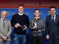 Putellas lanzó una crítica a aquellos que se suben a la ola del fútbol femenino. EFE/Alejandro Garcí