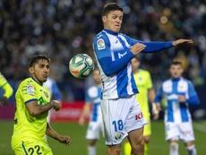 El Leganés, con ganas de que llegue la Copa del Rey. EFE/Rodrigo Jiménez