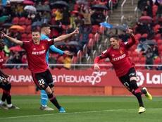 El Mallorca sorprendió al Valencia. EFE