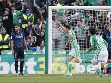 Edgar, una de las mejores noticias en el Betis de Rubi. EFE/Jose Manuel Vidal