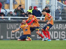 El Lecce se le atraganta al Inter. EFE/Marco Lezzi