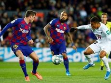 El Barça tiene una plantilla muy veterana. EFE