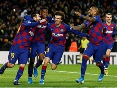El Barça sigue a una perla ghanesa. EFE