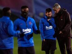 Jean-Clair Todibo a évoqué son passage au Barça. EFE