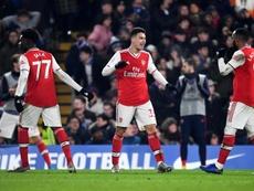 Un Arsenal à dix arrache le nul à Chelsea. EFE