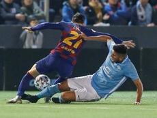 Au Barça, certains joueurs ont la gueule de bois. EFE