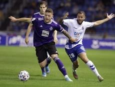 El Valladolid cayó eliminado en Tenerife. EFE