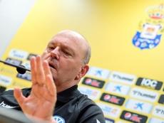 Pepe Mel analizó el empate ante el Fuenlabrada. EFE