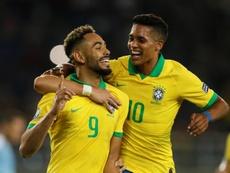 Matheus Cunha foi incluído na lista da Seleção Brasileira. EFE/Ernesto Guzmán Jr.