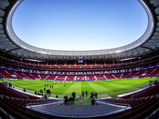 Escalações oficiais de Atlético e Liverpool pelo jogo de ida da Champions 18-02-20. EFE/Rodrigo Jimé
