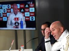 Zidane confió en el regreso de Blae. EFE