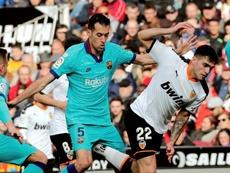 Valence fait valser le Barça. AFP