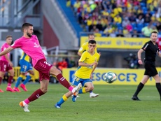 Las Palmas y el Tenerife empataron. EFE