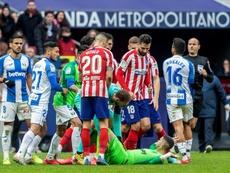 El pique de Cuéllar con el Atleti tiene su origen. EFE/Rodrigo Jiménez