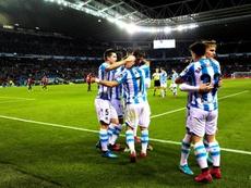 La Real Sociedad venció con claridad al Mallorca. EFE