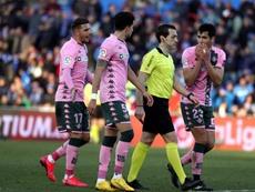 El Betis pedirá las grabaciones del VAR a la RFEF. EFE/Kiko Huesca