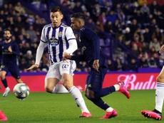 El Real Madrid sale líder de Zorrilla, pero sin cuajar un gran partido. EFE