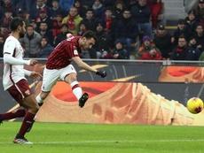 La fe del Milan. EFE