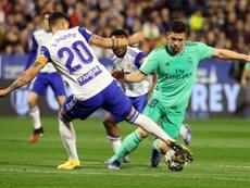 Jovic no quiere estar más con Zidane. EFE