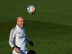 Zidane is 3rd. EFE